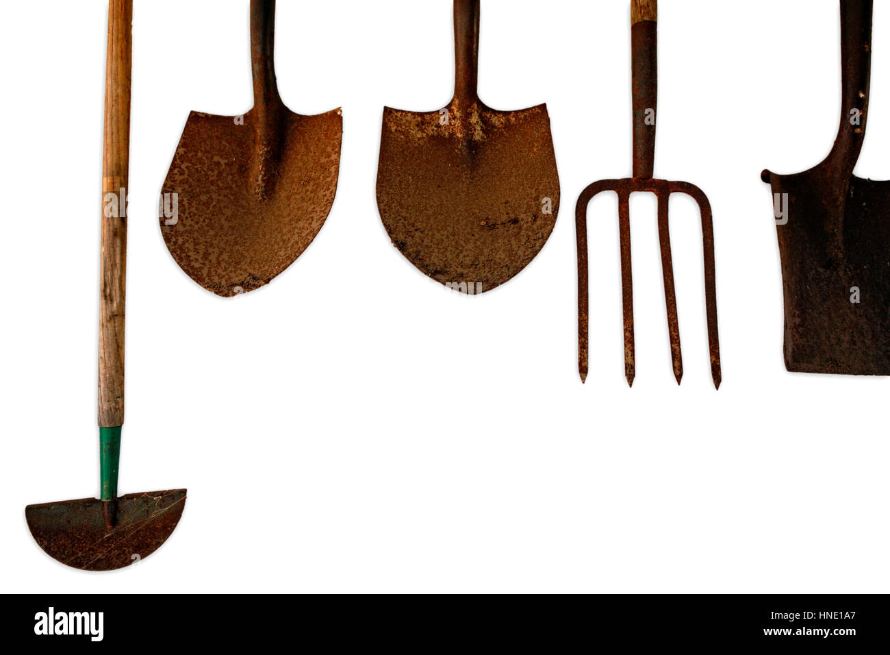 alamy shed garden hanging photo tools of tool rows up stock hanger inside