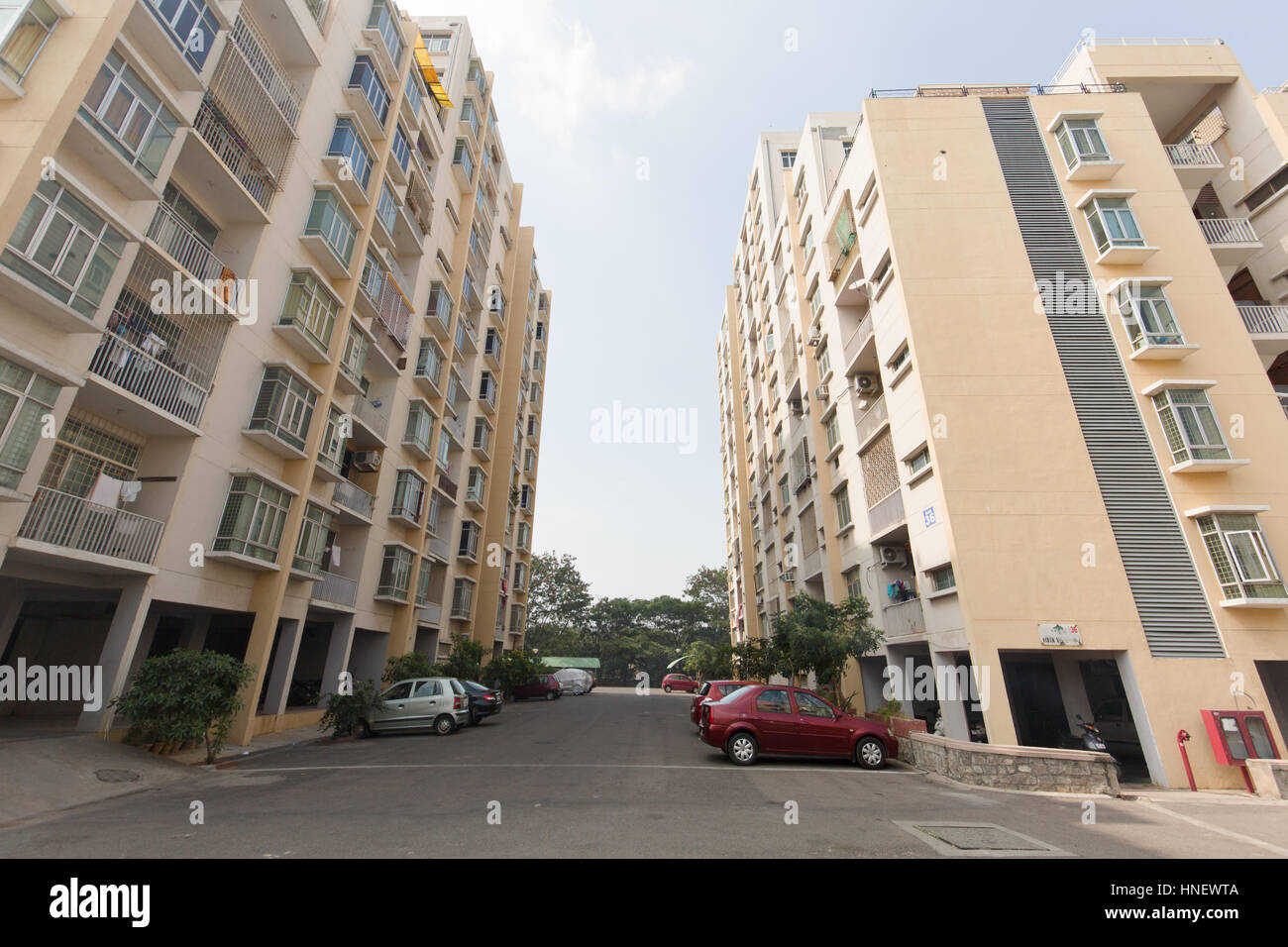 HYDERABAD, INDIA - FEB 12,2017 Housing market in India gets a boost after Government of India has announced more - Stock Image