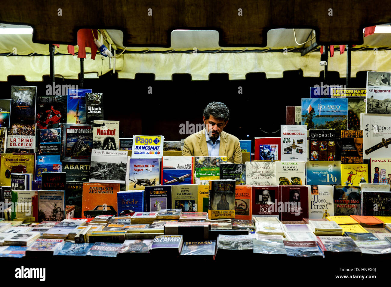 The Bookseller - Stock Image