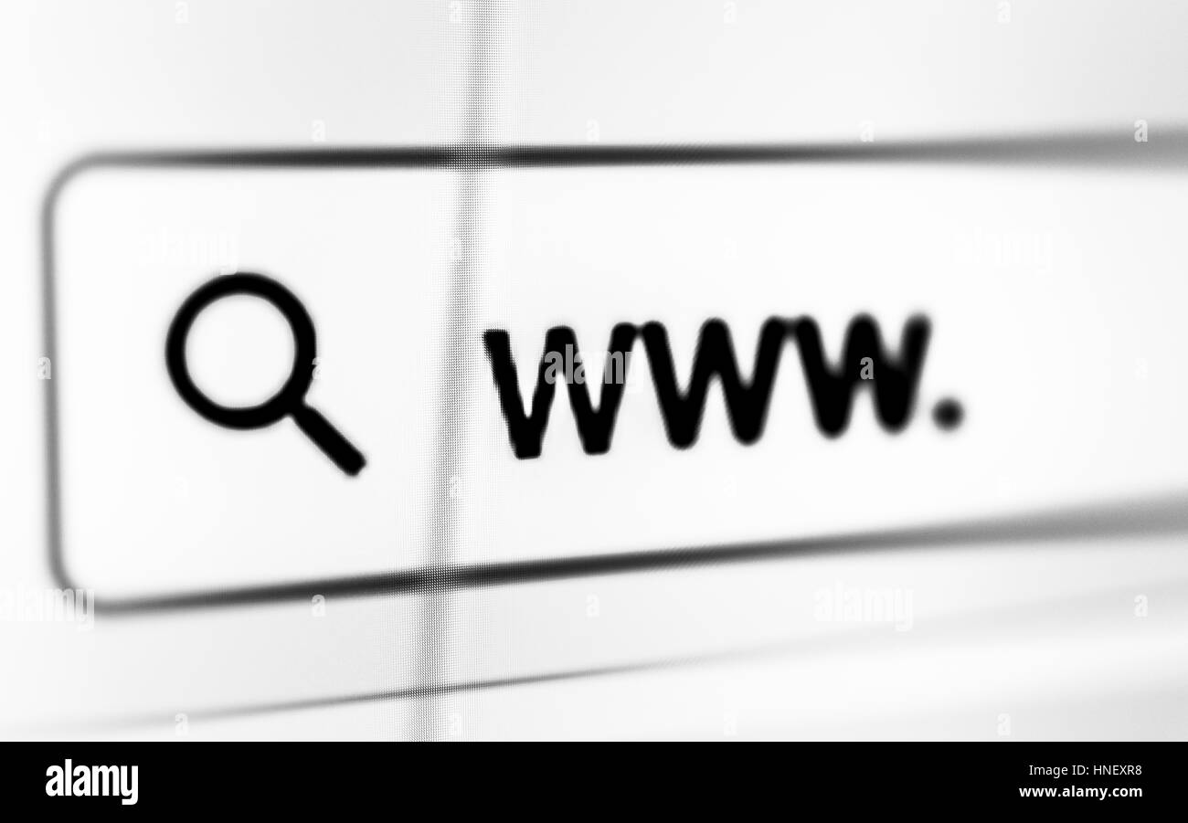 Internet Black And White Stock Photos & Images