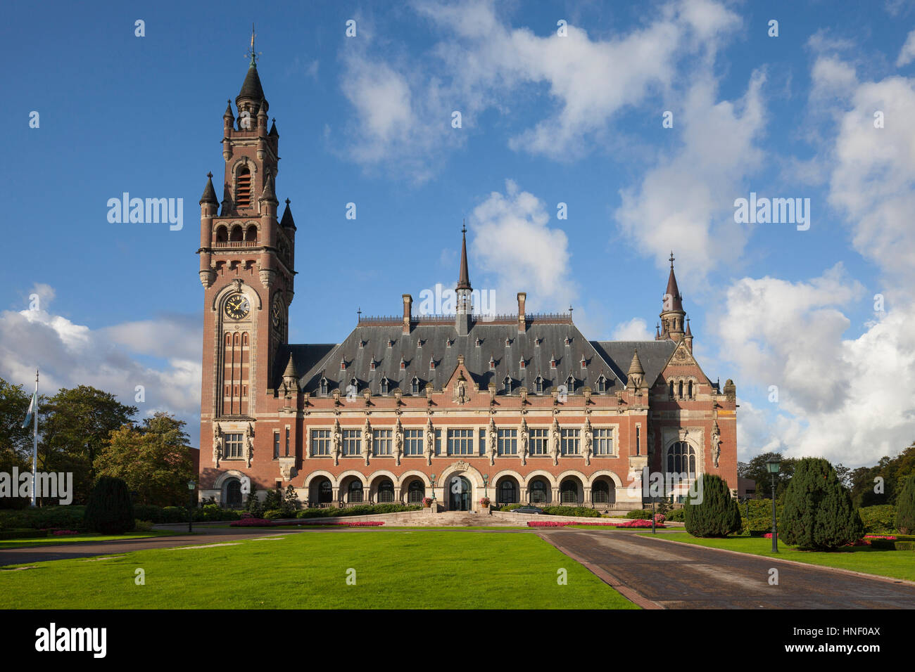 Peace Palace, The Hague, Holland, Netherlands - Stock Image