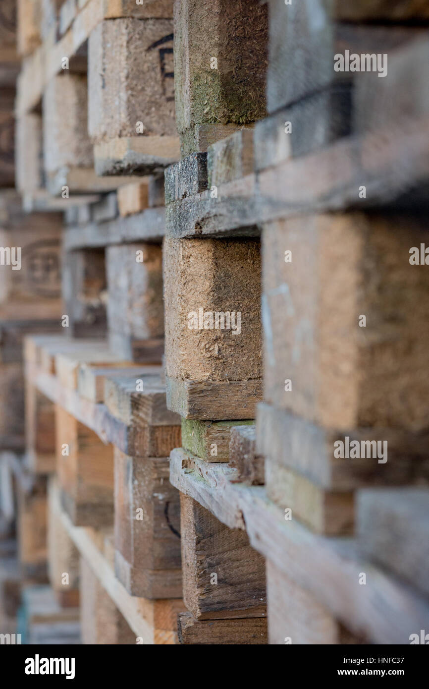 Pallet Stack - Stock Image