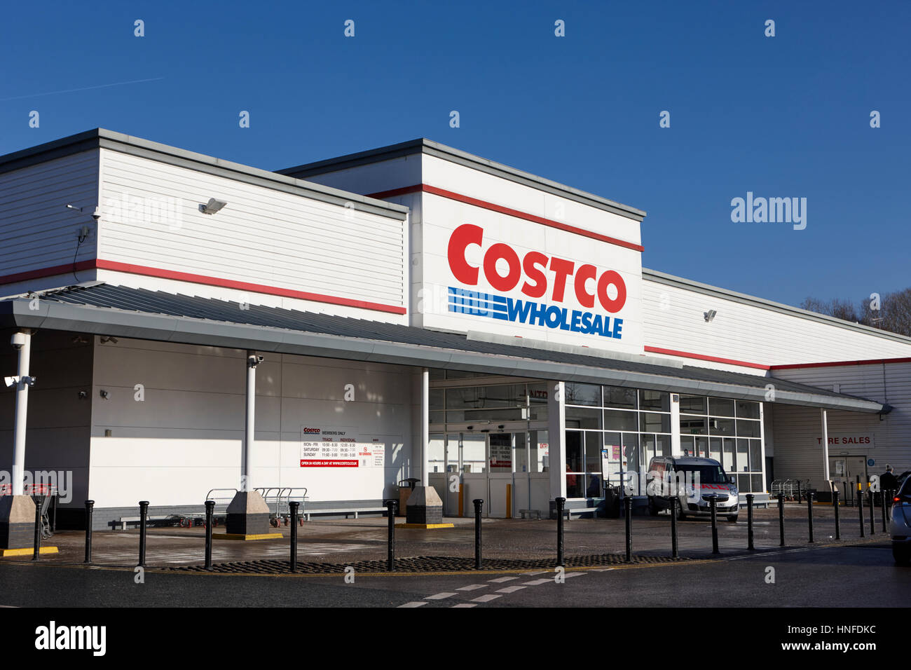 costco wholesale store in liverpool uk - Stock Image