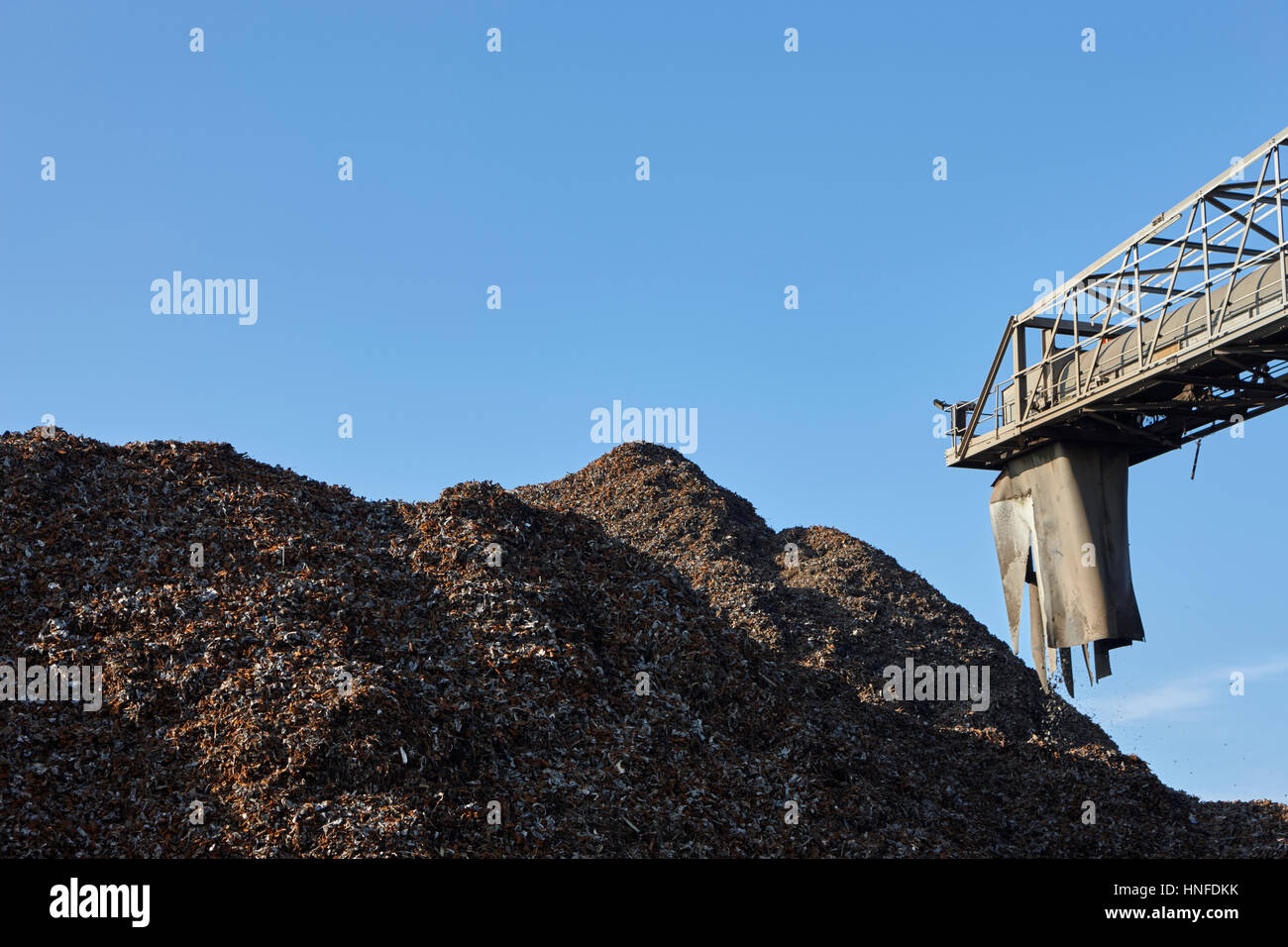 metal recycling plant liverpool uk Stock Photo