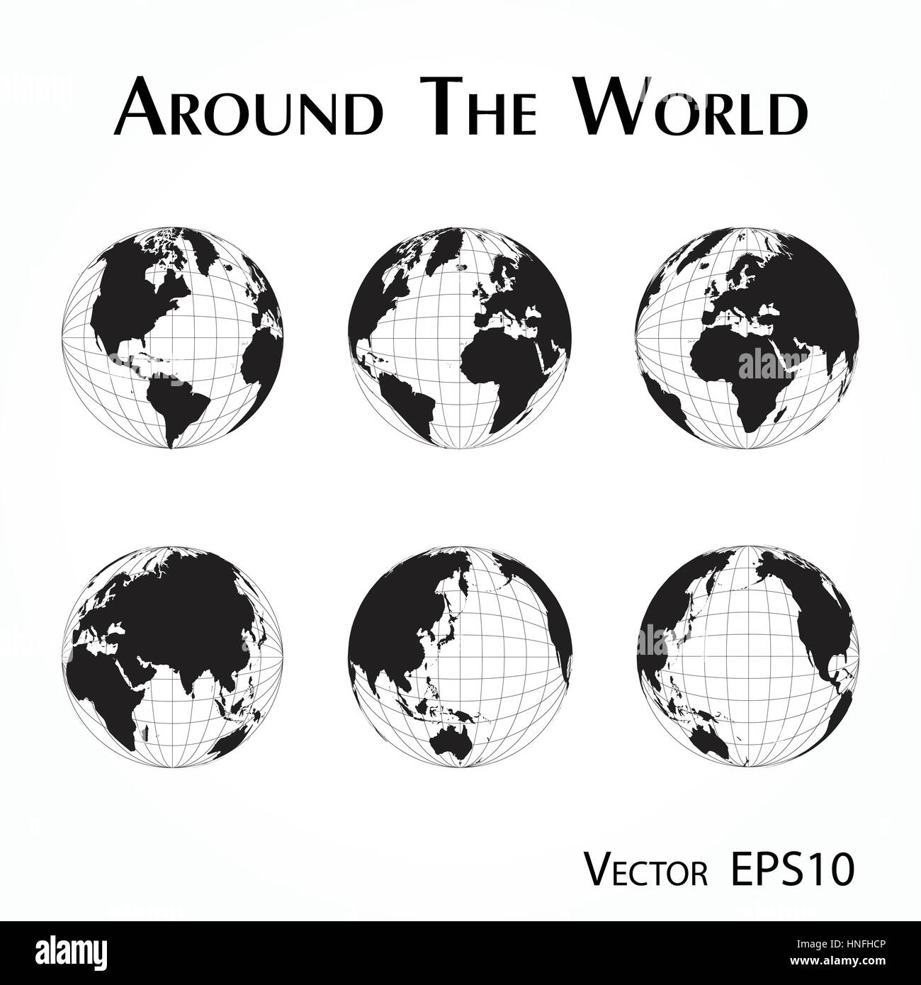 Around the world outline of world map with latitude and longitude around the world outline of world map with latitude and longitude gumiabroncs Image collections