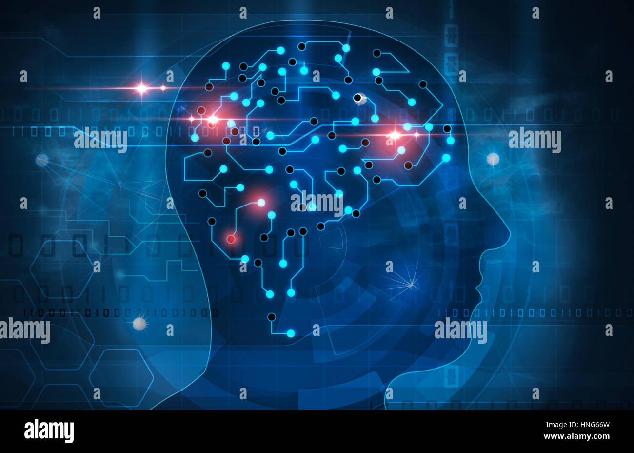 human mind Stock Photo
