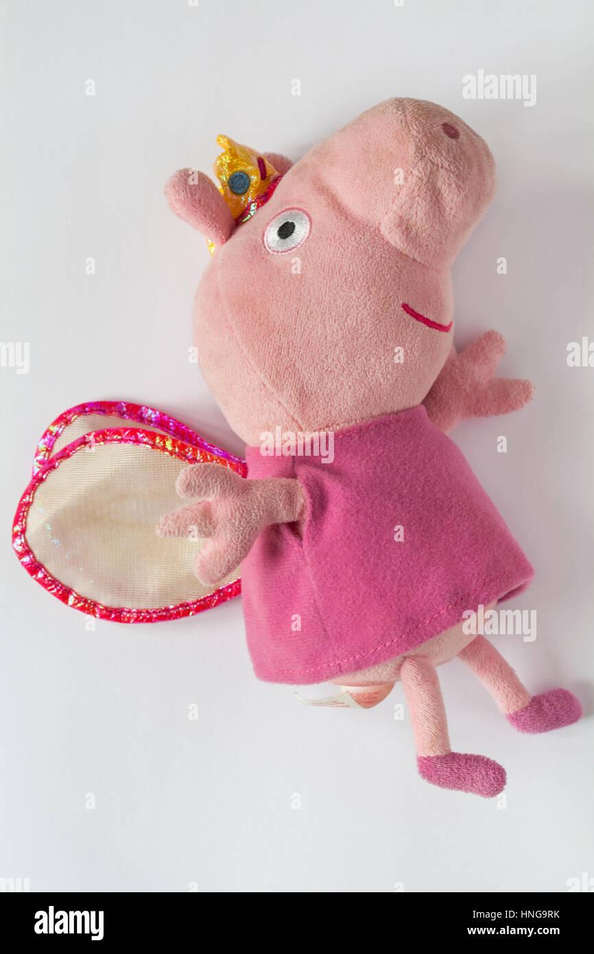 Peppa Pig - Princess Peppa ty original beanies isolated on white background 19bda269cbf1