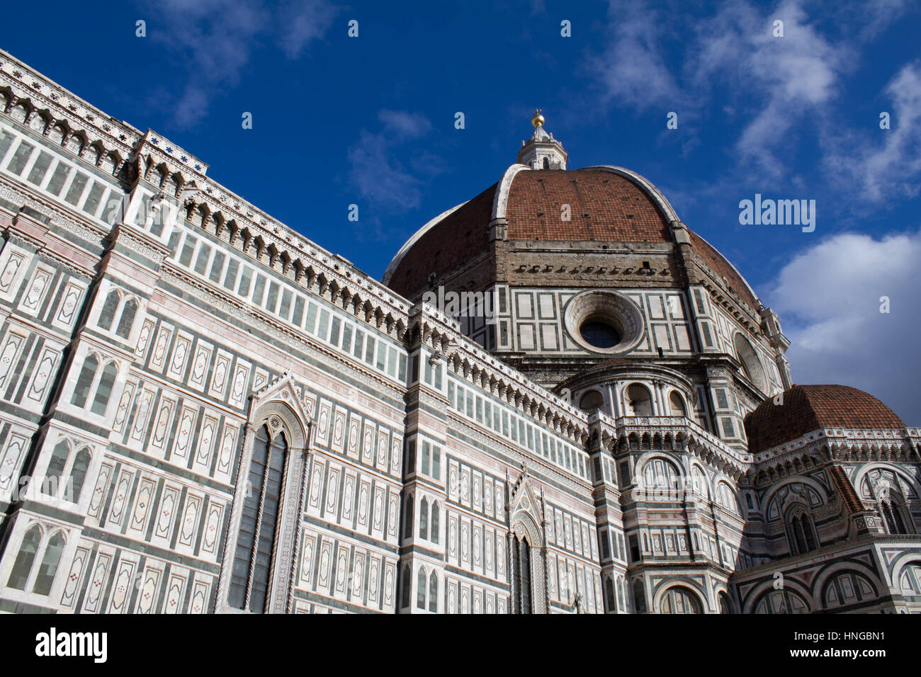 The Duomo in Florence, Italy. - Stock Image