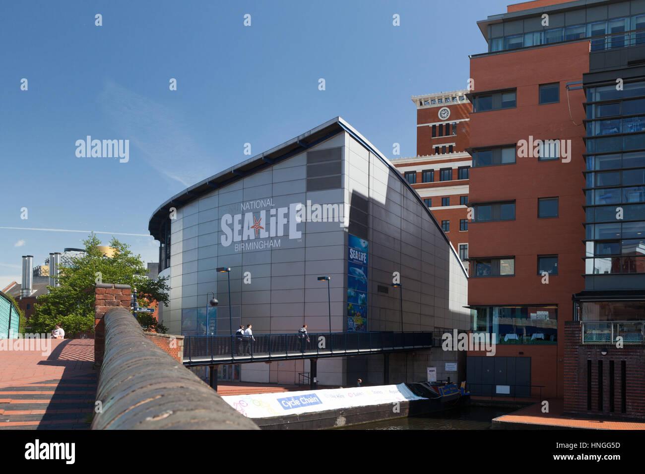 The National Sealife Centre in Birmingham UK. - Stock Image
