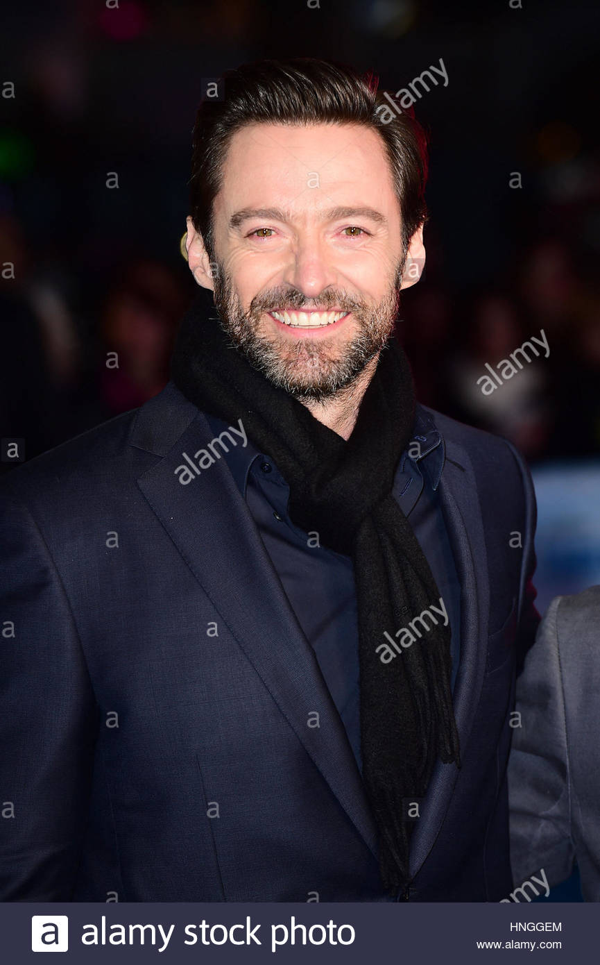 File photo dated 17/03/16 of Australian actor Hugh Jackman who has had his sixth skin cancer removed. - Stock Image