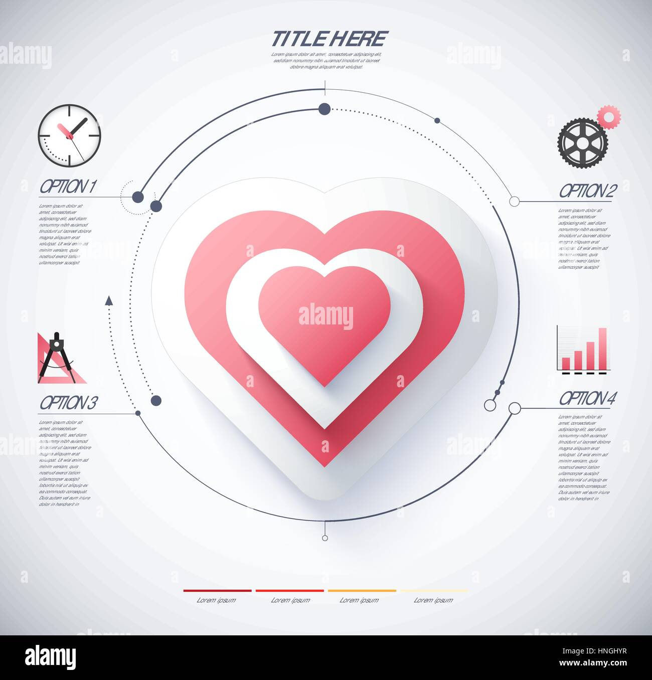 Infographic diagram heart love concept stock photos infographic infographic diagram of heart and love concept included icon and sample text vector infographic ccuart Image collections