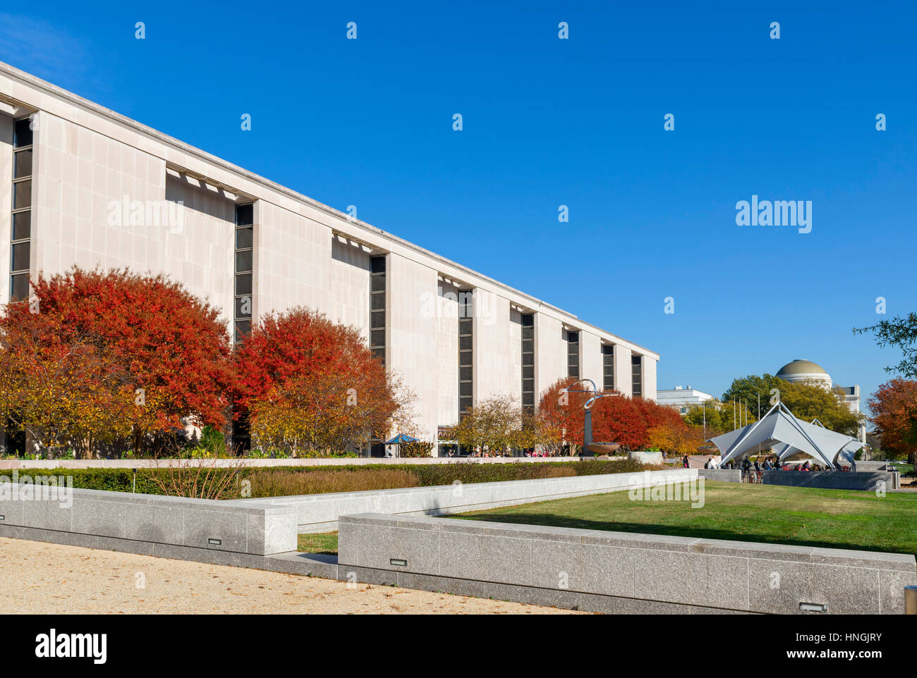 National Museum of American History, Behring Center, National Mall, Washington DC, USA - Stock Image