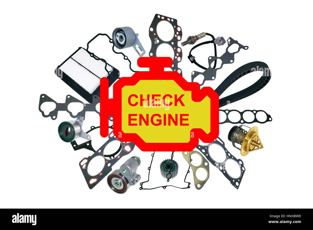 Check Engine Light Symbol
