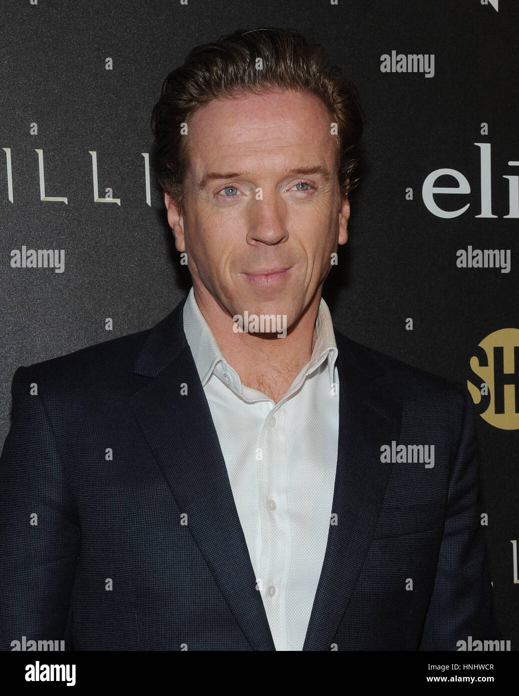 New York, USA. 13th February 2017. Damian Lewis attends the 'Billions' Season 2 premiere at Cipriani 25 - Stock Image