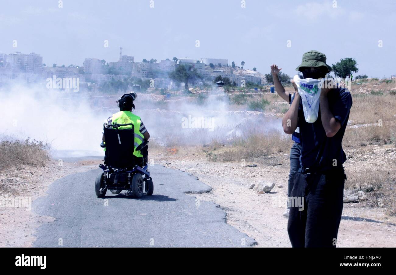 Protest in Palestine - Stock Image