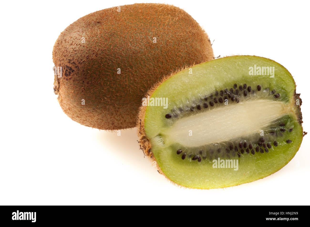 kiwi fruit is a consumer and has many beneficial properties - Stock Image