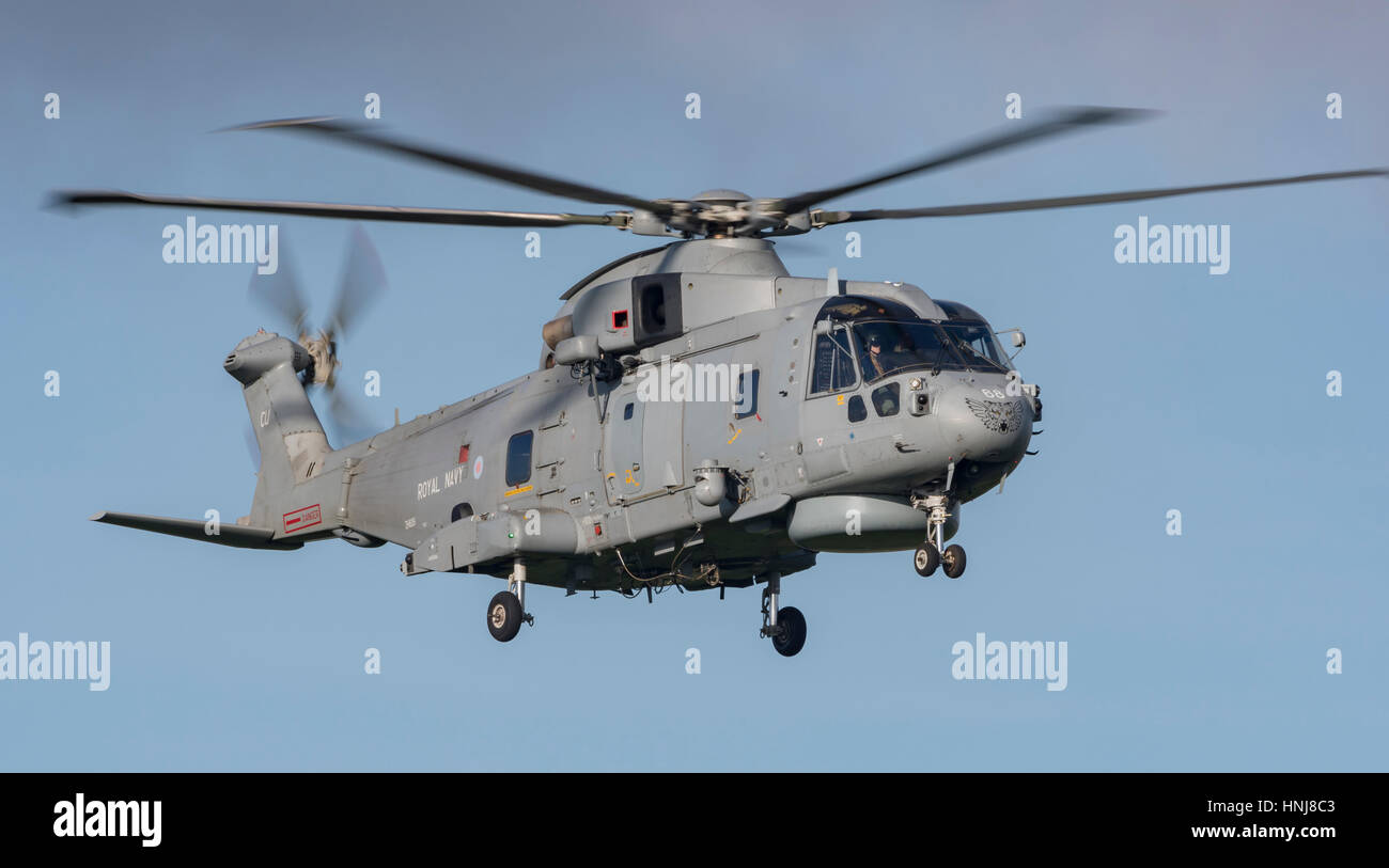 Merlin MK2 Helicopter - Stock Image