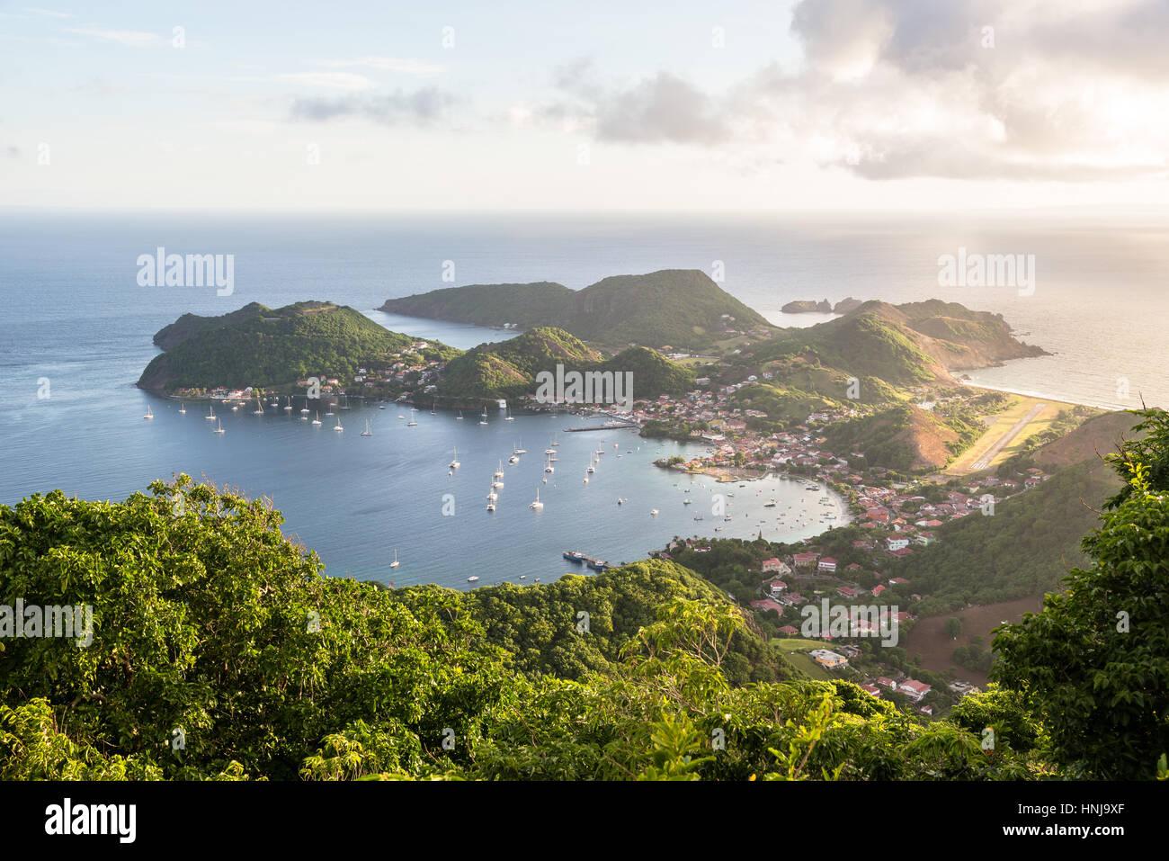 Lookout Terre-de-Haut, Islands of the Saints (Iles des Saintes) - Stock Image