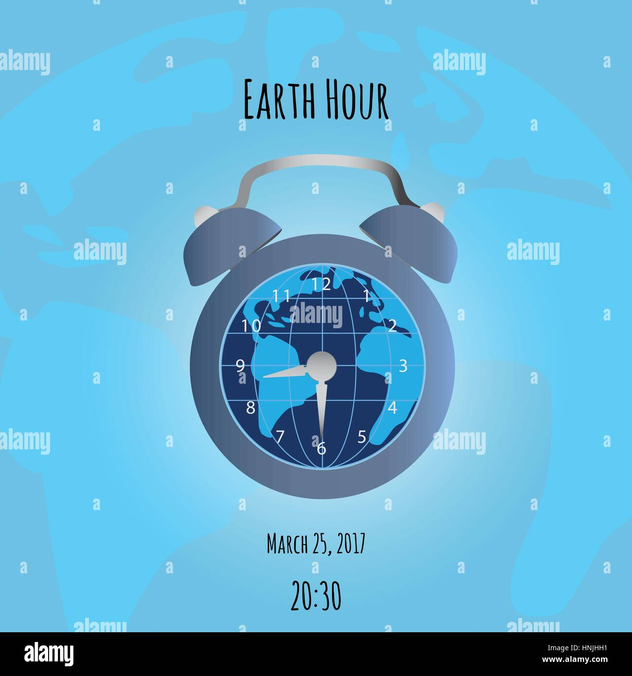 Earth and alarm clock on map background could be used in world earth and alarm clock on map background could be used in world sleep day vector illustration gumiabroncs Images
