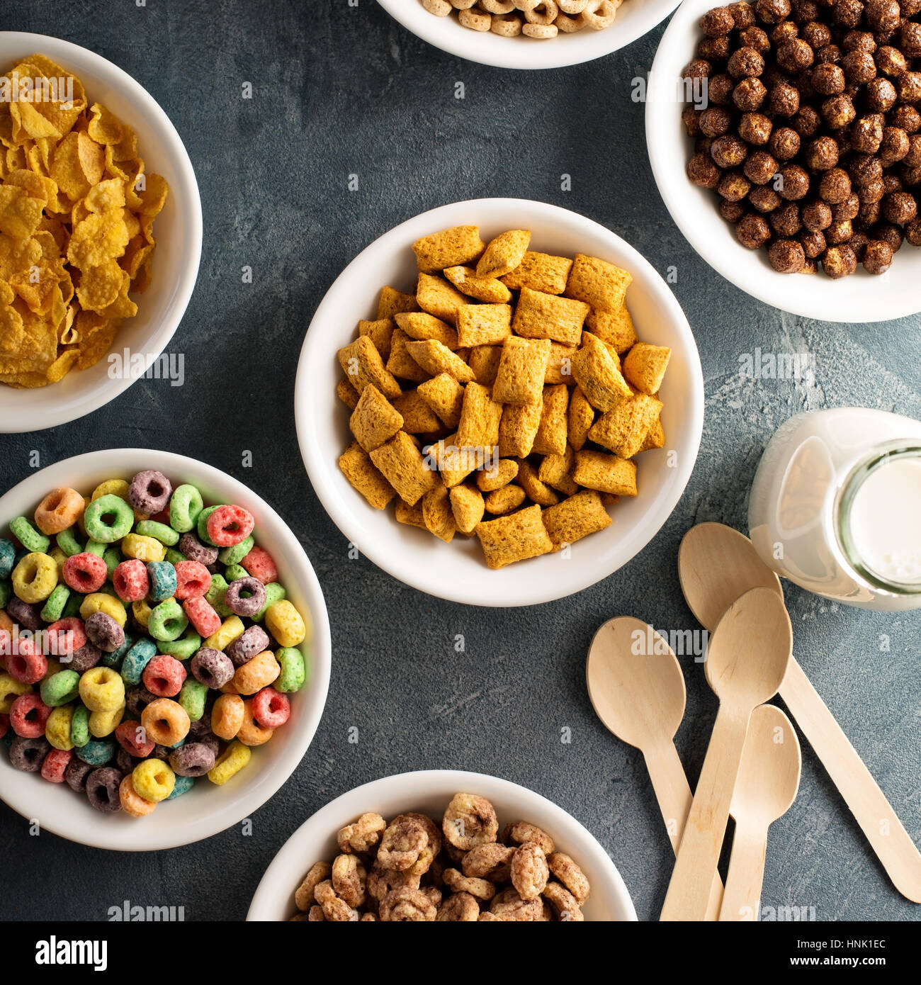Fruit Loops Cereals Stock Photos & Fruit Loops Cereals Stock Images