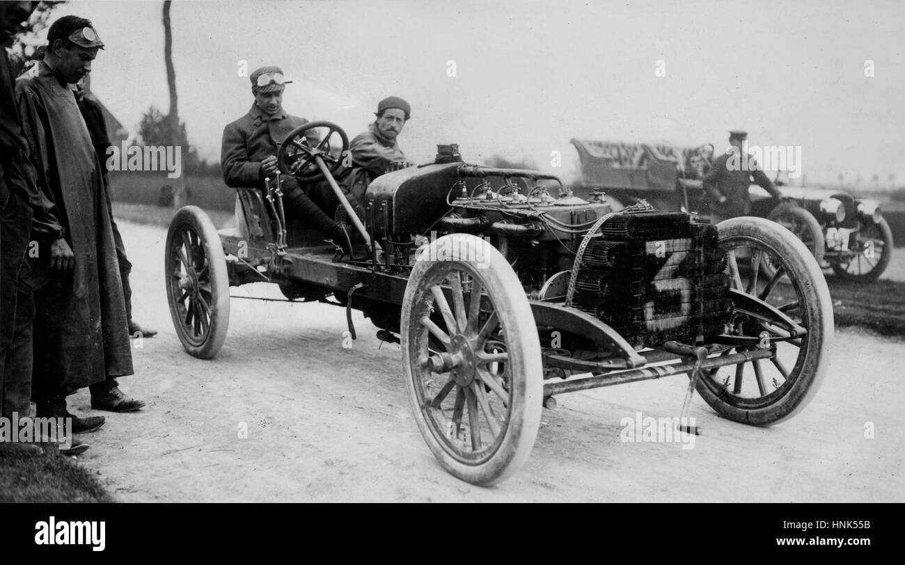 1904 Clement Bayard - Stock Image