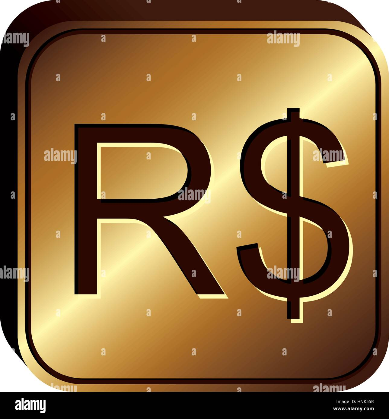 Brazilian Reais Stock Vector Images Alamy