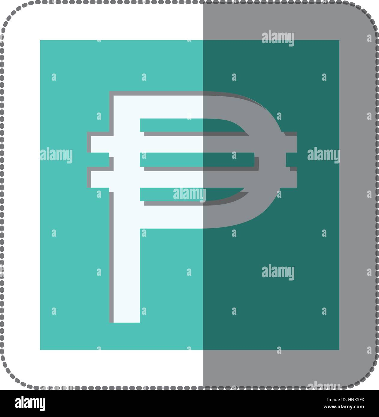 Pesos Currency Symbol Icon Image Vector Illustration Stock Vector