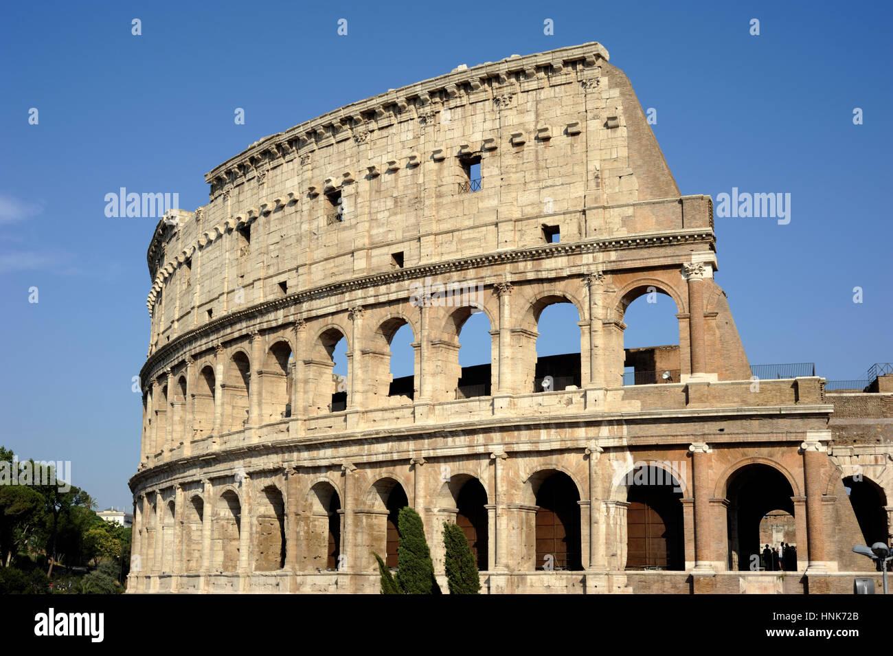 italy, rome, colosseum Stock Photo