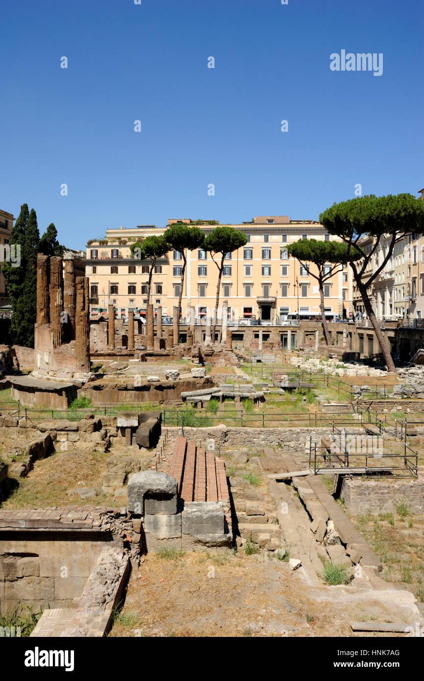 italy, rome, area sacra of largo di torre argentina Stock Photo