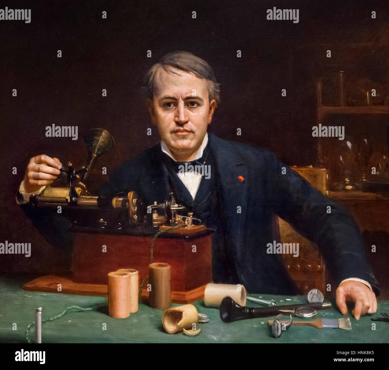 Thomas Alva Edison Stock Photos  for thomas edison in color  66plt