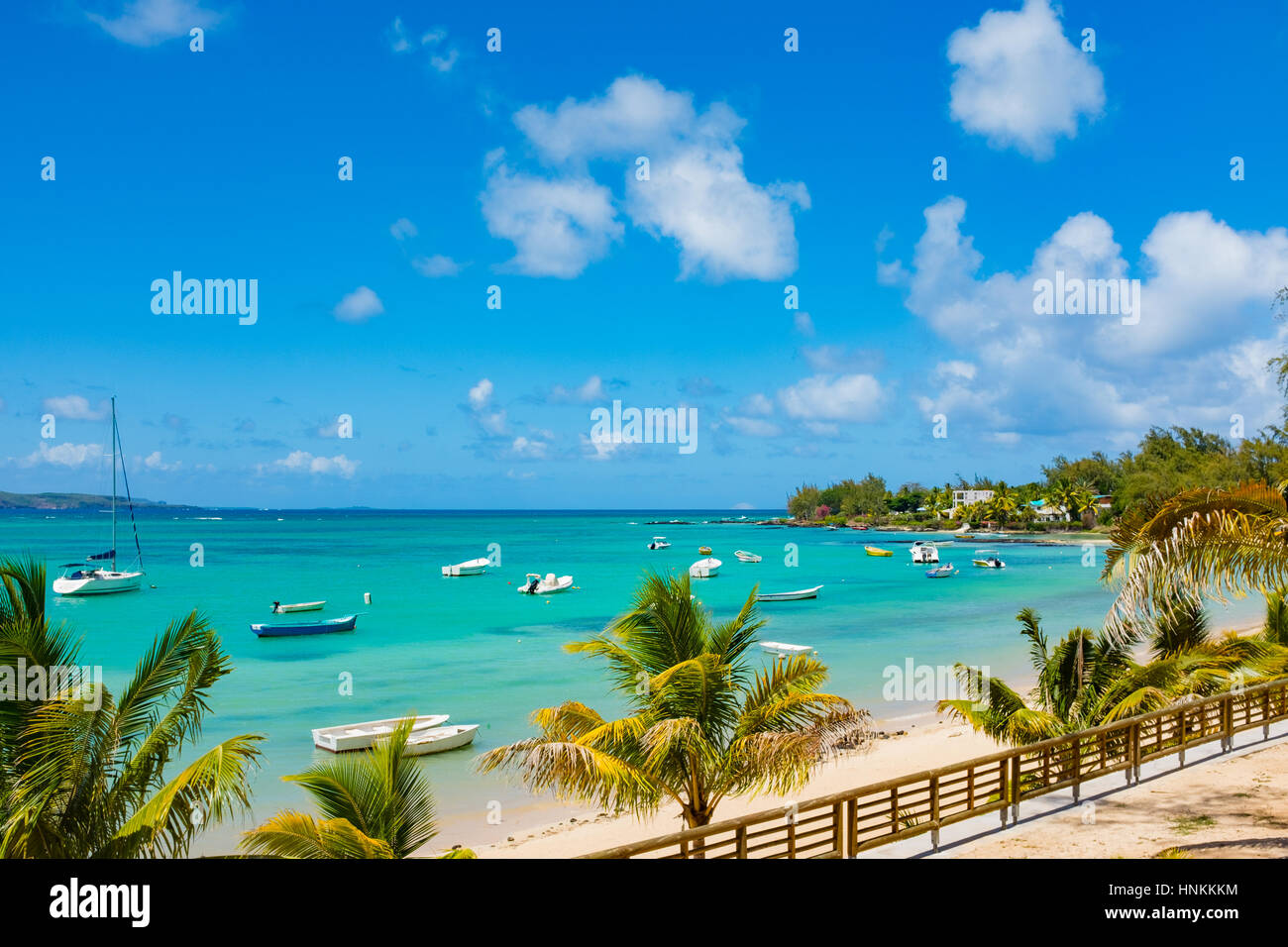 Tropical Island Beach Ambience Sound: Mauritius Beaches Stock Photos & Mauritius Beaches Stock