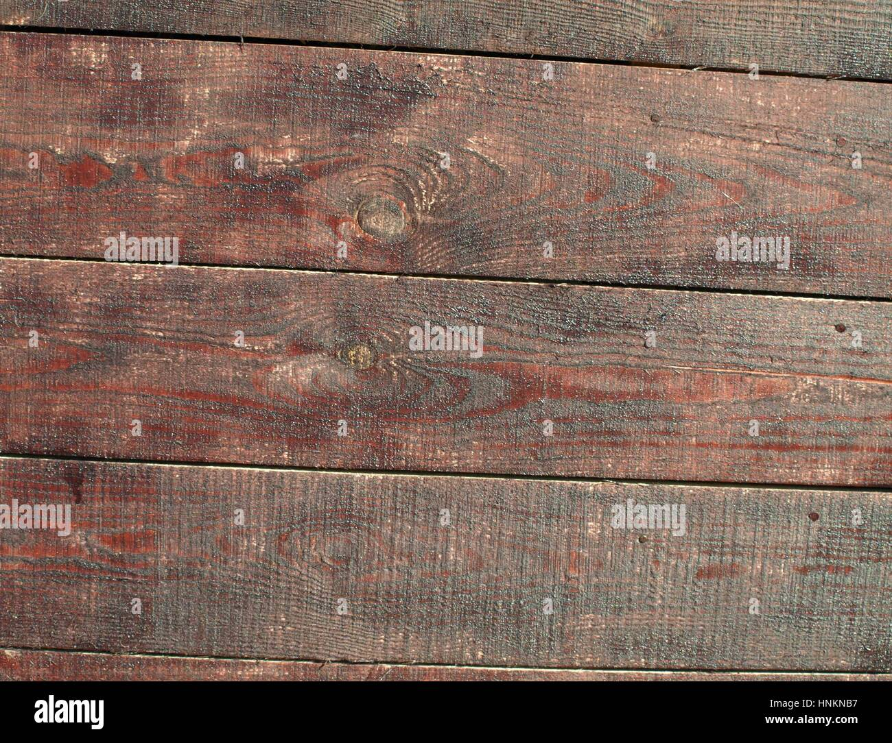 Wooden wall - Stock Image