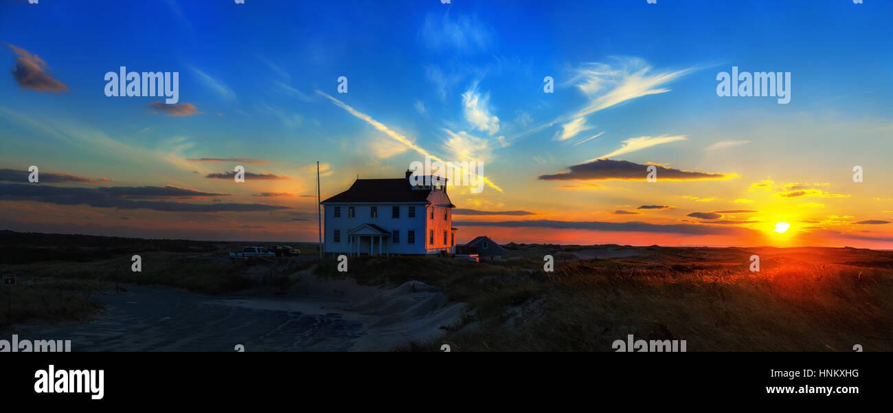 Cape Cod national Seashore, Massachusetts, Provincetown. USA - Stock Image