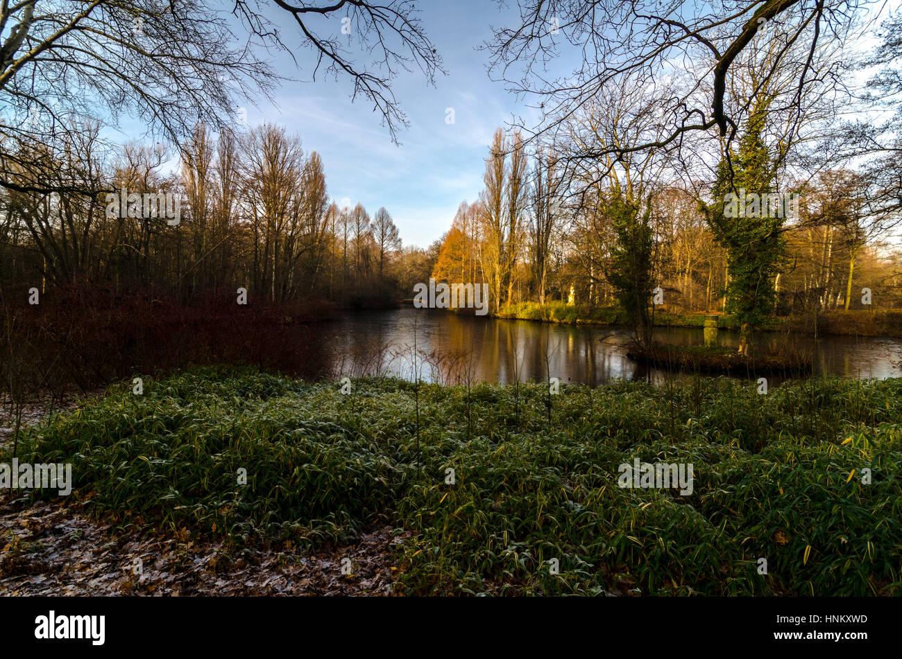 Tiergarten, Berlin, Germany - Stock Image