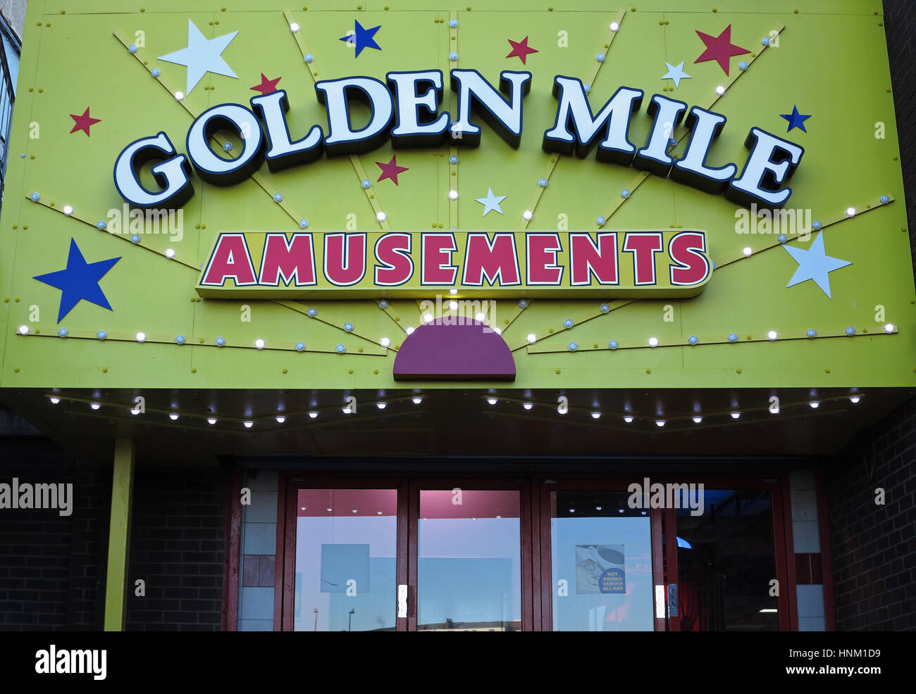 The Golden Mile - Stock Image