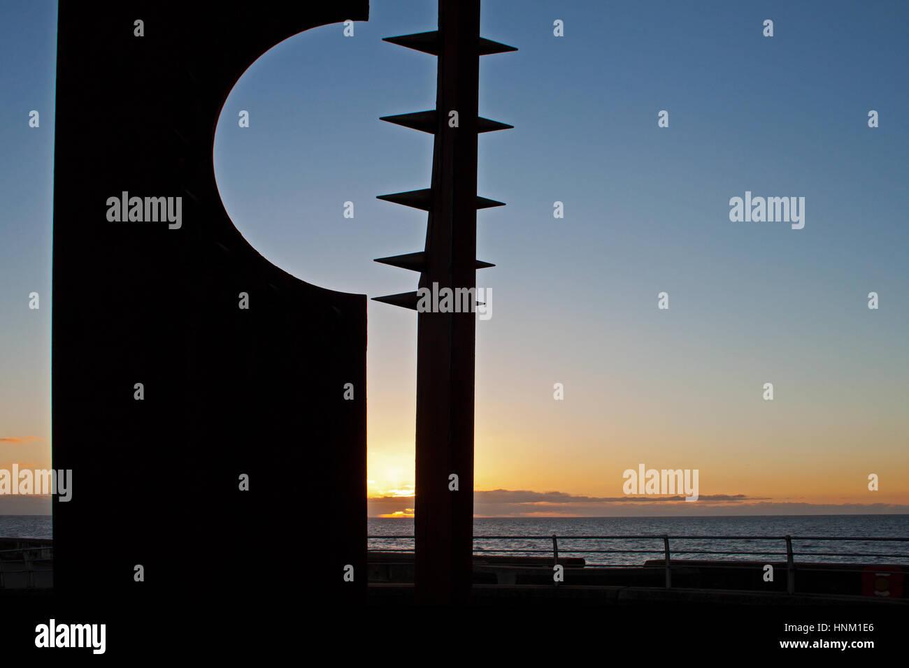 Sunset of Desire - Stock Image