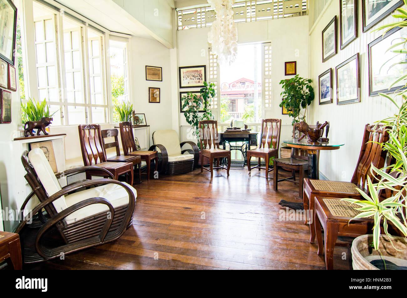 Veranda, Oboza Heritage House, Rizal Street, Davao, Davao Del Sur,  Philippines