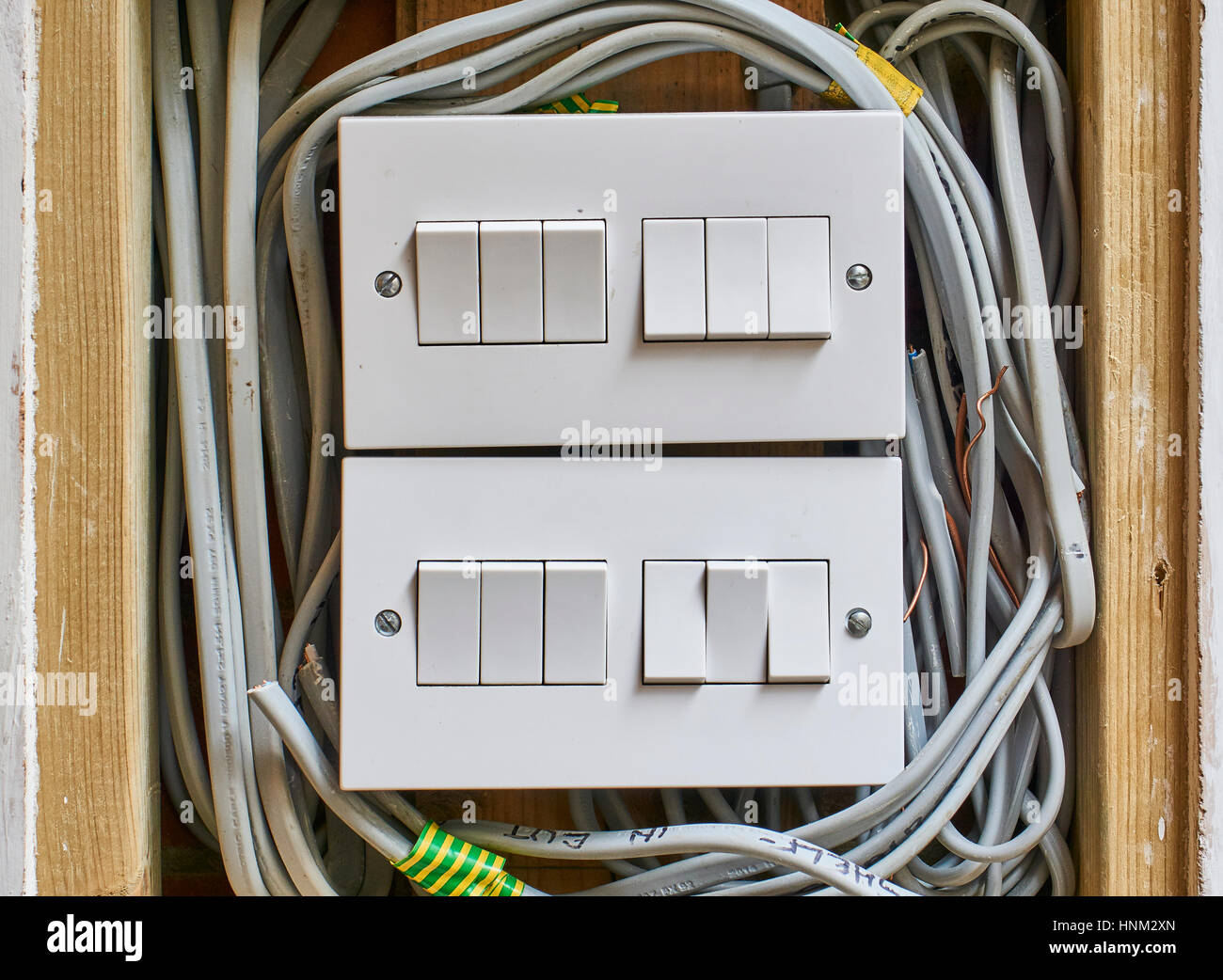 Electrical Wiring Mess Stock Photos & Electrical Wiring Mess Stock ...