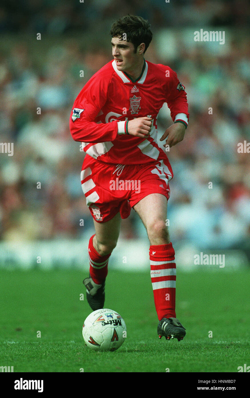 MARK KENNEDY LIVERPOOL 19 April 1995 - Stock Image