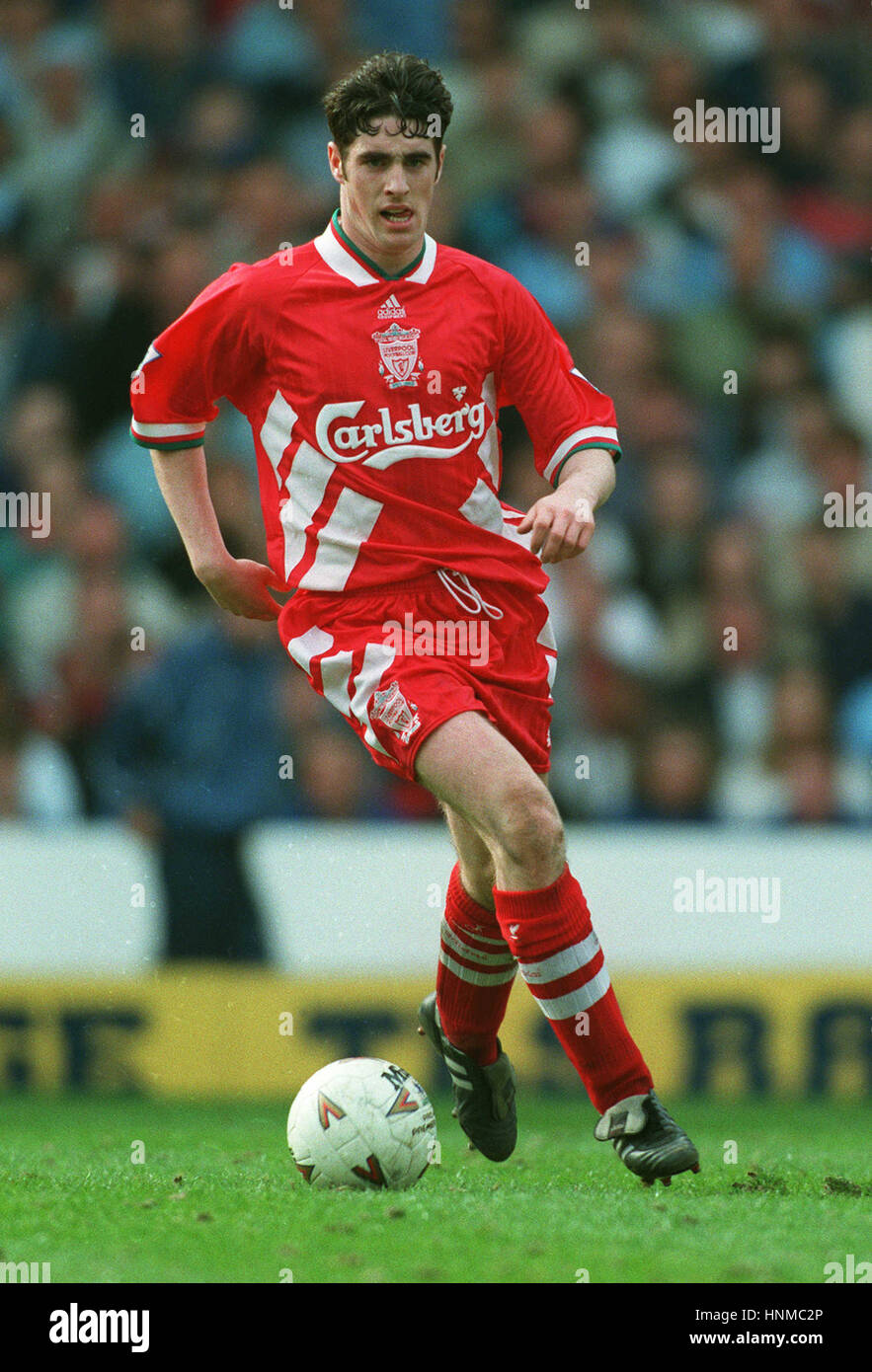 MARK KENNEDY LIVERPOOL 18 April 1995 - Stock Image