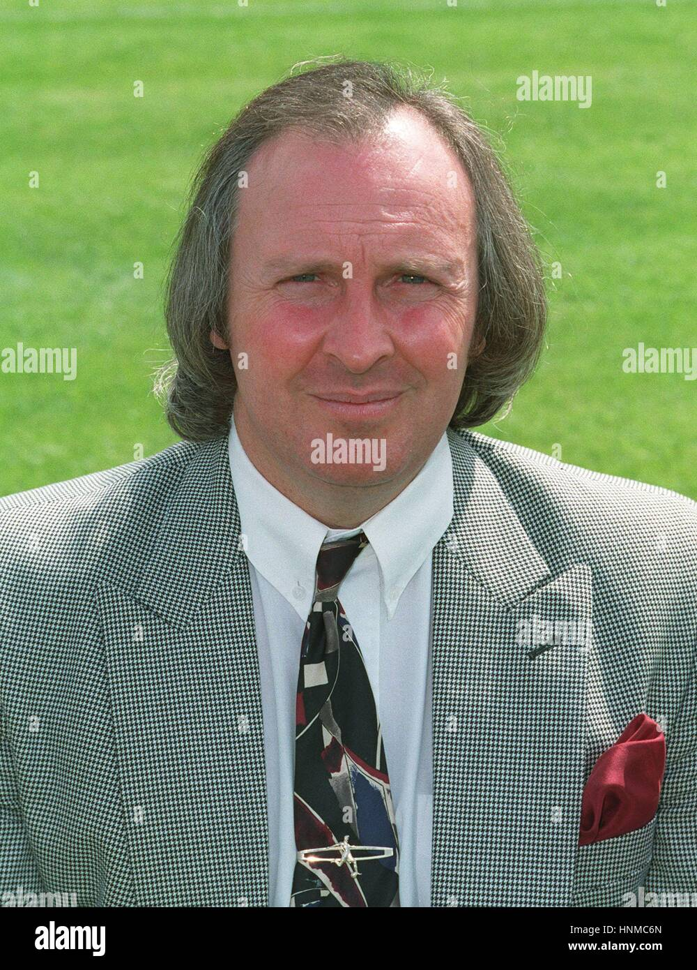JOHN RUSSELL SCARBOROUGH FC CHAIRMAN 16 August 1995 - Stock Image