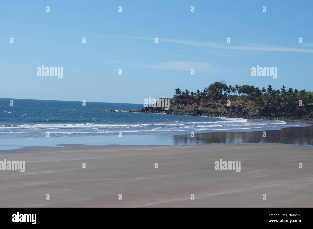 El Salvador Beaches - Stock Image