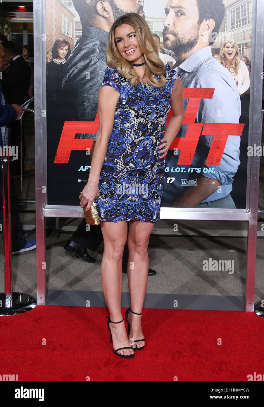 Westwood, California, USA. 13th Feb, 2017. Brianna Brown. ''Fist Fight'' Los Angeles Premiere held at Regency Village Stock Photo
