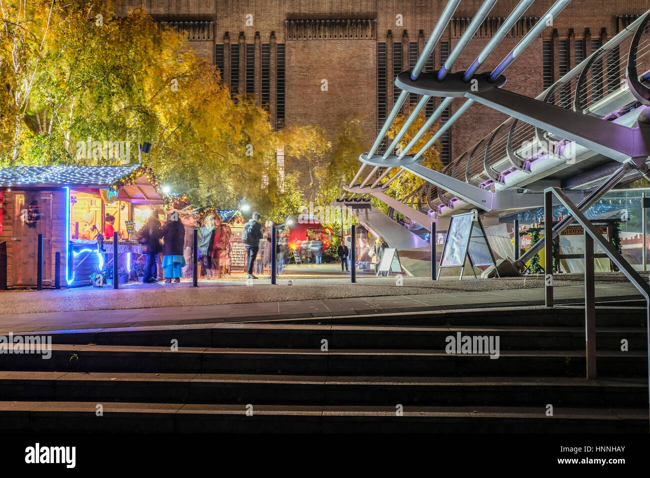xmas markets in London - Stock Image