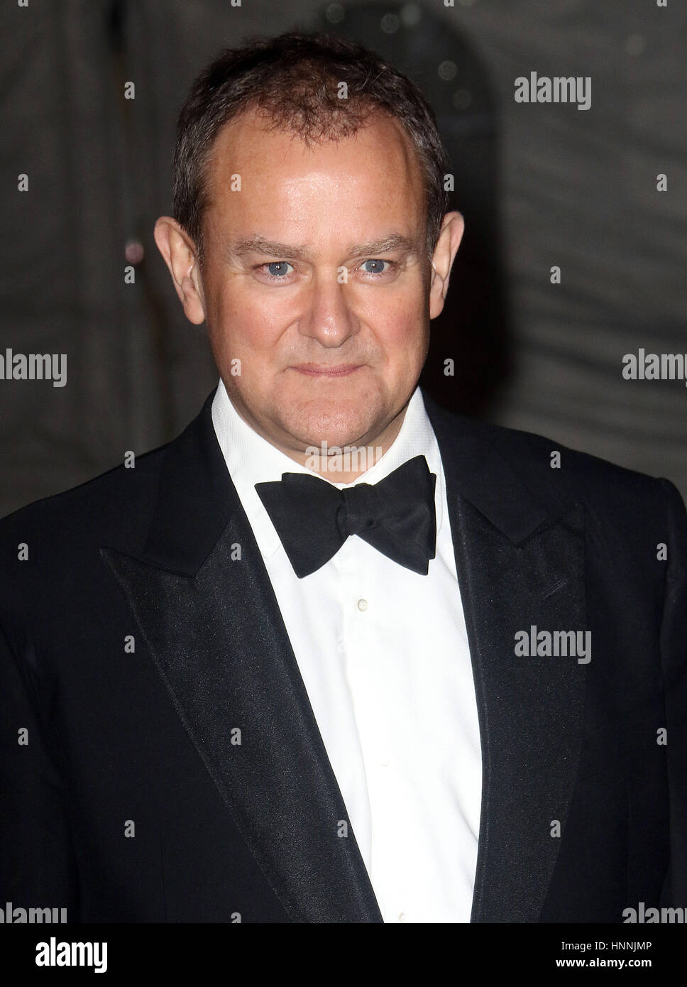 Feb 02, 2017  - Hugh Bonneville attending The British Asian Trust reception and dinner, Guildhall - Red Carpet Arrivals - Stock Image