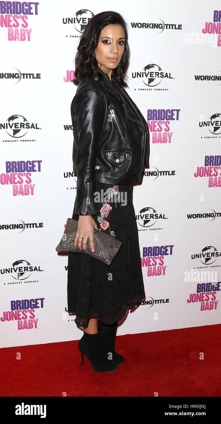 Jan 31, 2017  - Fiona Wade attending Bridget Jones's Baby Red Carpet Screening, Charlotte Street Hotel, Soho - Stock Image
