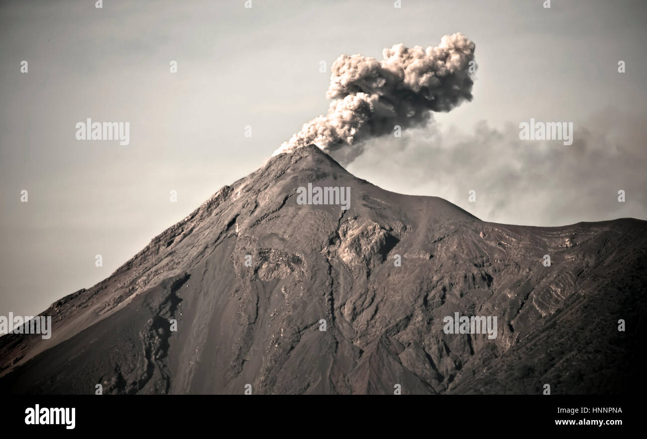 Volcano in America - Stock Image