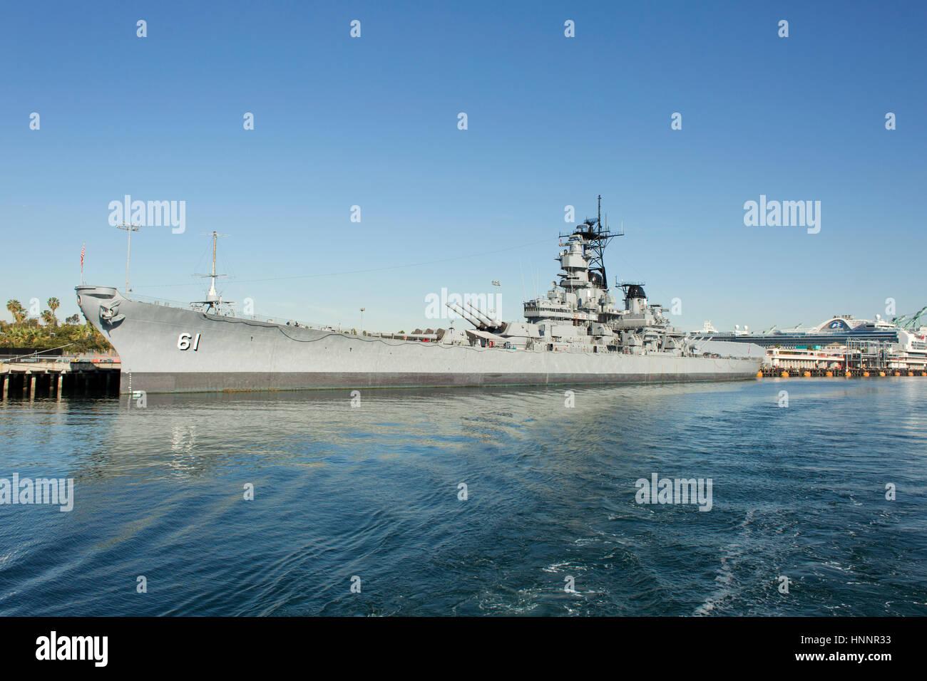 USS Monterey (CG-61) - Stock Image