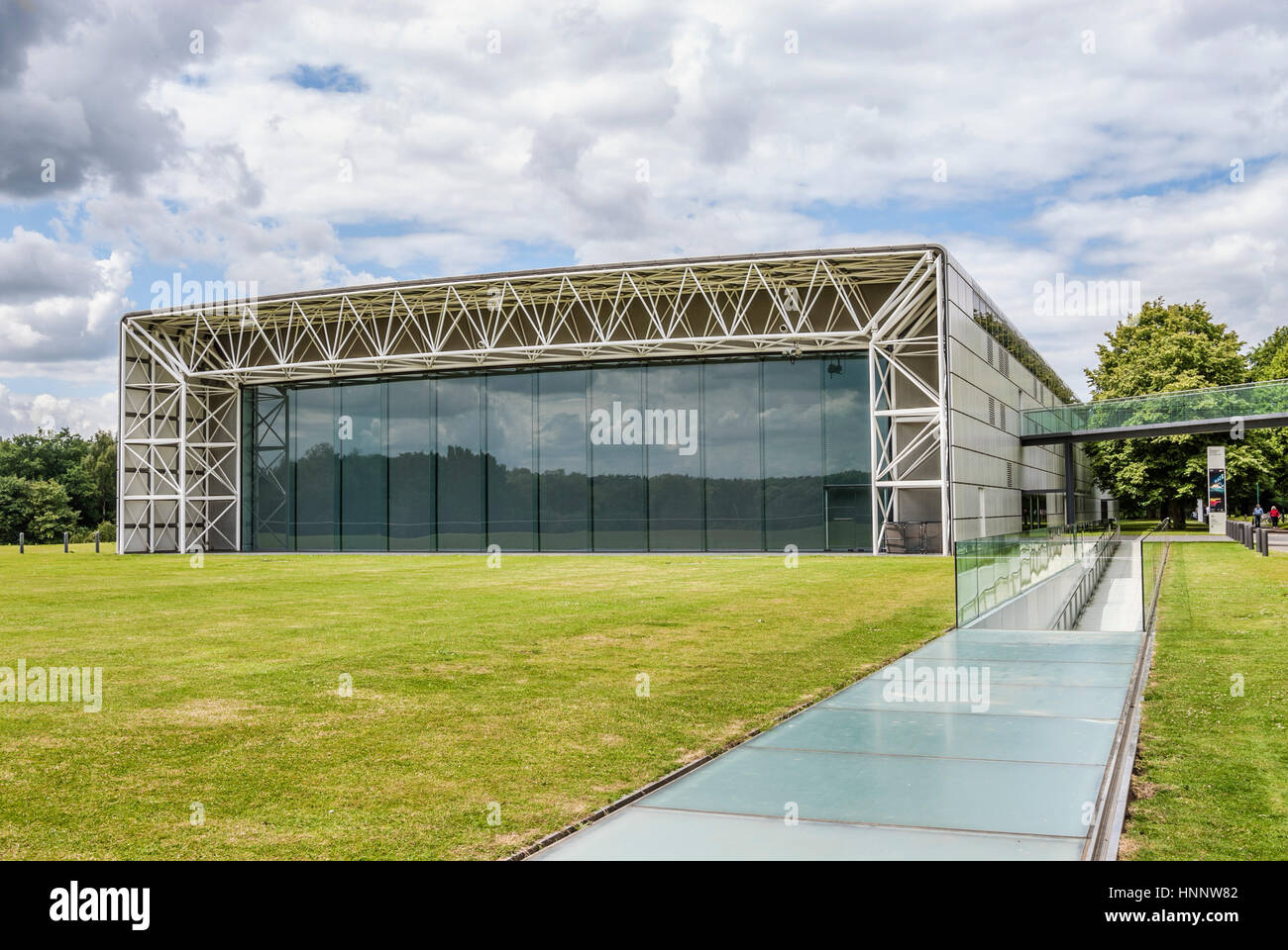 The Sainsbury Centre for Visual Arts is an art gallery and museum located on the campus of the University of East - Stock Image