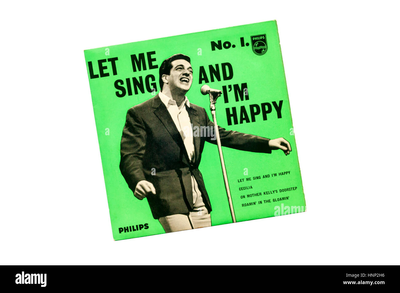 1961 EP Let Me Sing and I'm Happy No 1 by Frankie Vaughan. - Stock Image